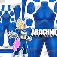 Saiyan Undersuit - Female - Aesthetic Cosplay, LLC