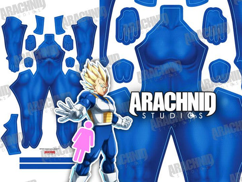 Saiyan Undersuit - Female - Aesthetic Cosplay, Inc.