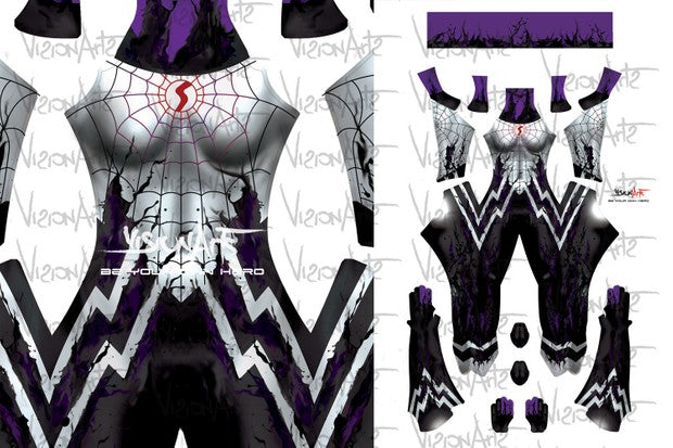 Silk Symbiote Light - Aesthetic Cosplay, LLC