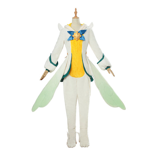League of Legends Pajama Guardian Soraka Cosplay Kigurumi - Aesthetic Cosplay, LLC