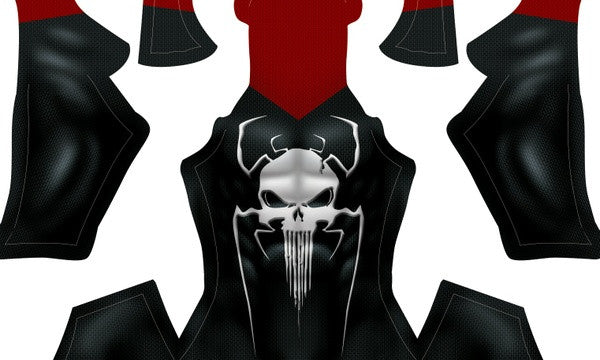 The Amazing Spider-Man Punisher - Aesthetic Cosplay, LLC