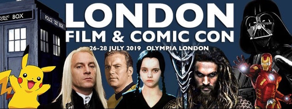 London Film and Comic Con (LFCC) at the Olympia 26th-28th July 2019
