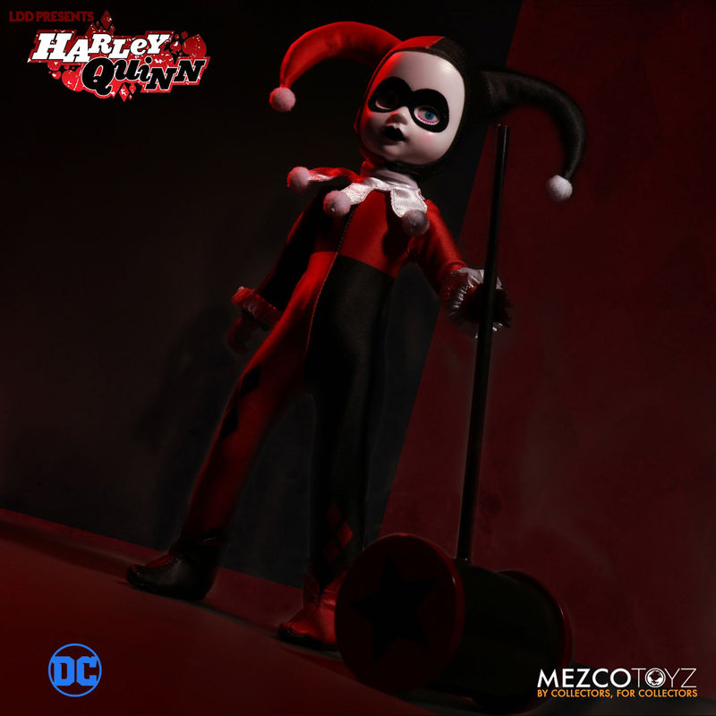 Living Dead Dolls Official DC Comics Classic Harley Quinn Doll