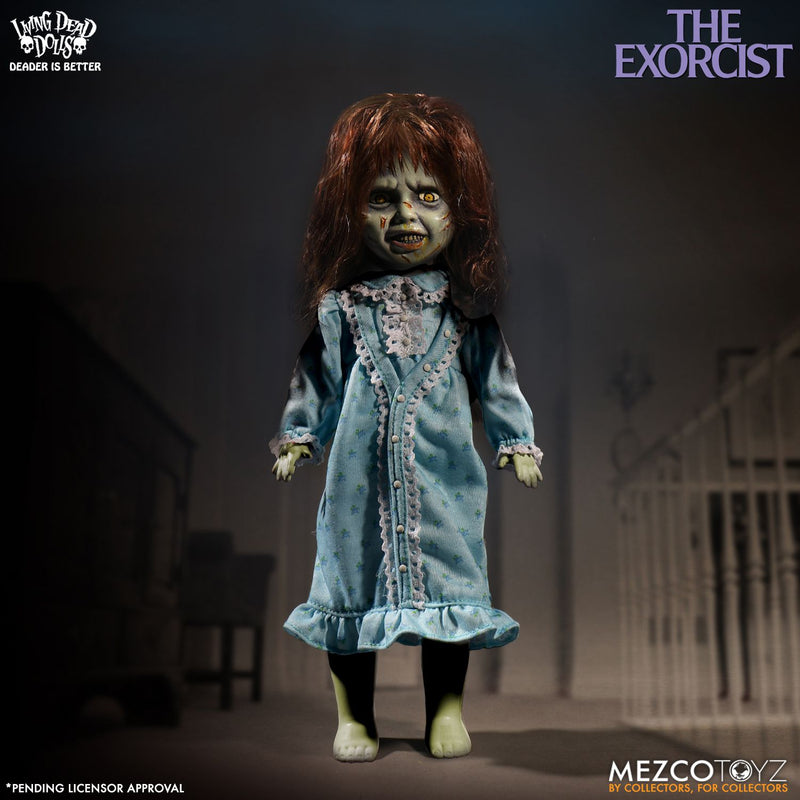"LIVING DEAD DOLLS OFFICIAL THE EXORCIST REGAN 10"" DOLL BY MEZCO TOYZ"