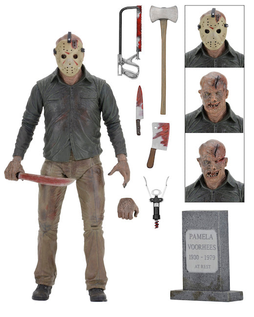 "Friday the 13th Part 4 Official 7"" Ultimate Jason Voorhees Figure NECA"
