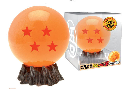 Dragonball Official 4 Star Dragonball Bust Bank by Plastoy