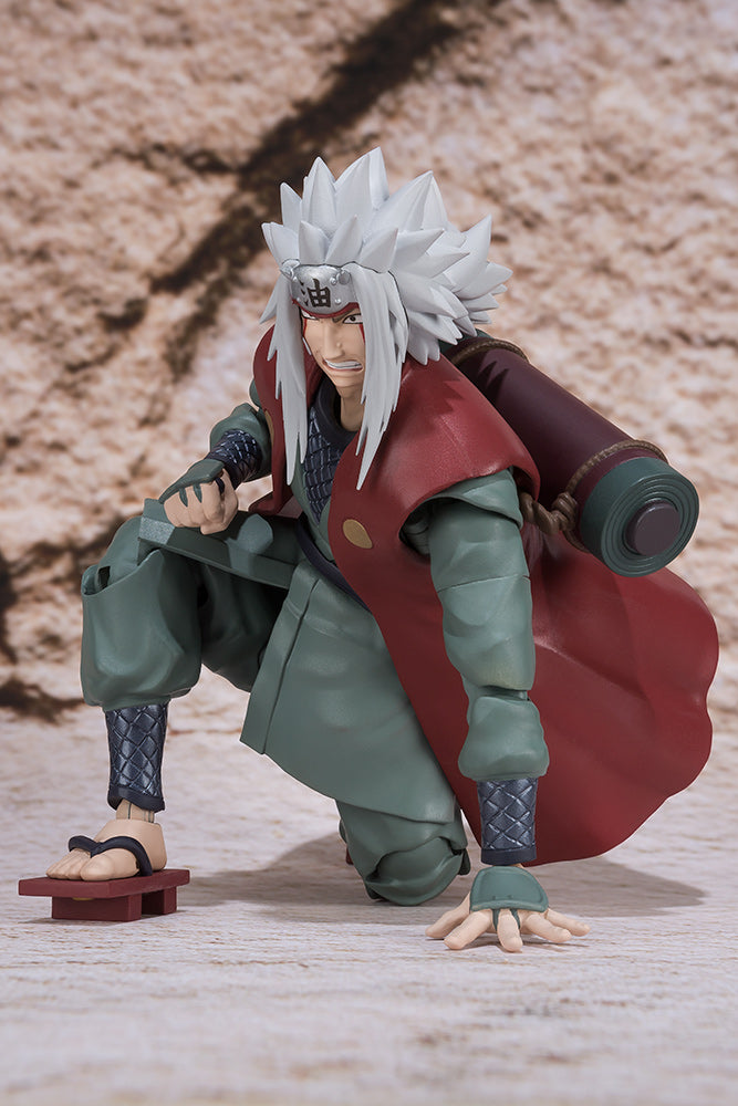 Naruto Official Jiraiya S.H.Figuarts Figure by Bandai Tamashii Nations