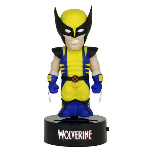 Marvel Wolverine Official Solar Powered Body Knocker by NECA