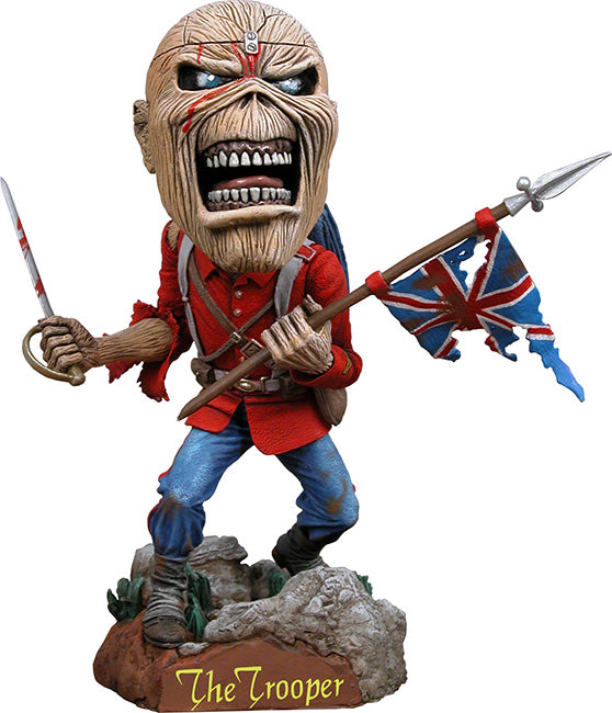 Iron Maiden Official Eddie The Trooper Extreme Headknocker by NECA