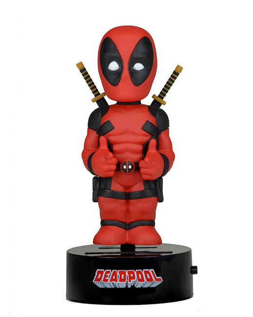 MARVEL Deadpool Official Solar Powered Body Knocker by NECA
