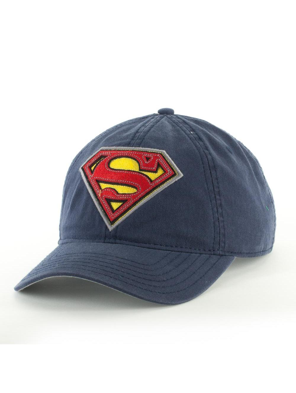 DC COMICS OFFICIAL SUPERMAN LOGO SNAPBACK BY BIOWORLD