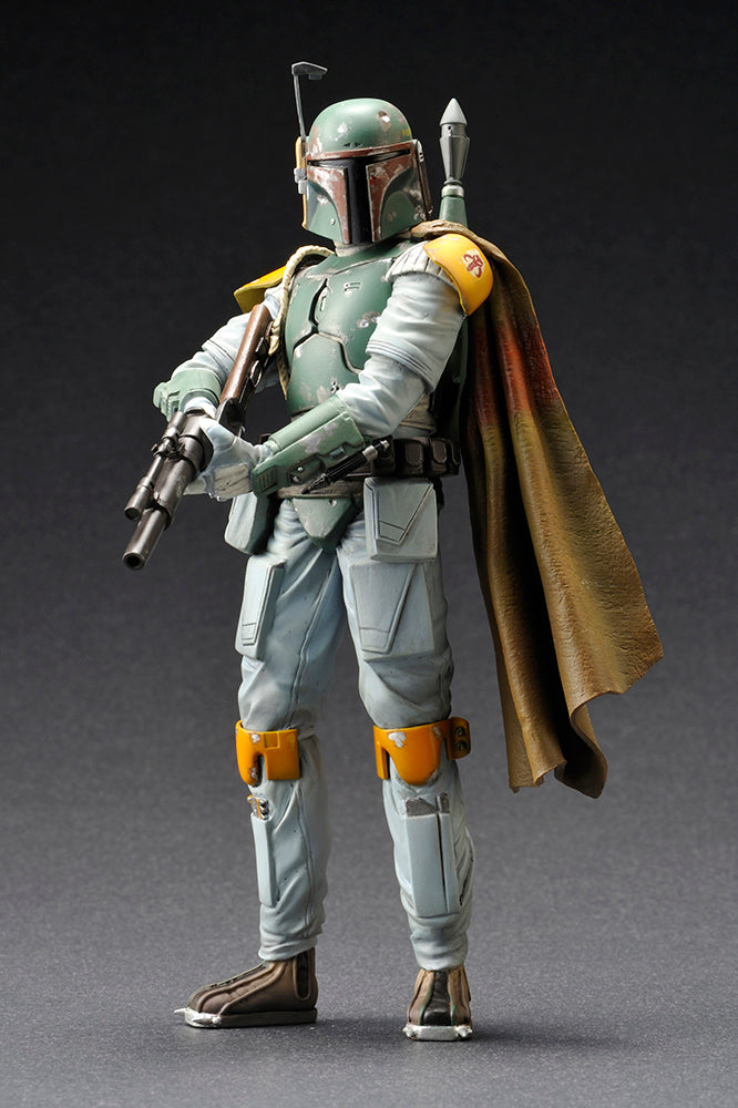 Star Wars The Empire Strikes Back Official Boba Fett Cloud City Artfx+Statue Kotobukiya