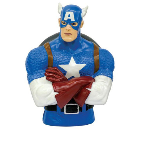 MARVEL Captain America Official Bust Bank by Monogram