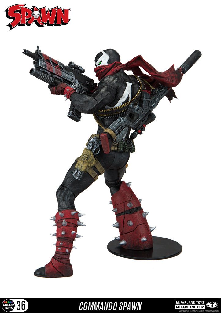 Spawn Official Commando Spawn Figure by McFarlane Toys