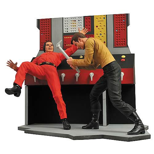 Star Trek Select Official Captain Kirk and Khan Diorama