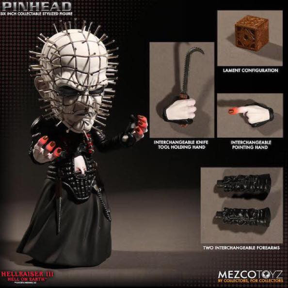 "Hellraiser 3 Official Pinhead 6"" Stylised Figure by Mezco Toyz"