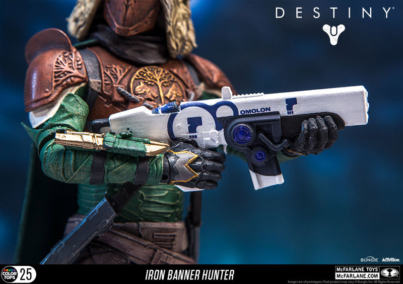 "Destiny Official 7"" Iron Banner Hunter Figure by McFarlane Toys"