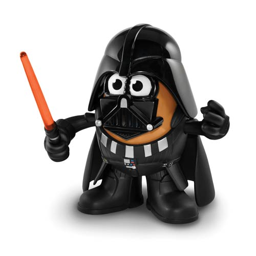 Mr Potato Head Poptater Official Star Wars Darth Vader by PPW