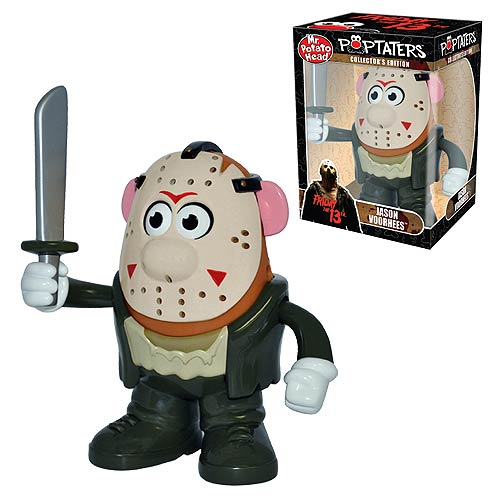 Mr Potato Head Poptater Official Friday the 13th Jason Voorhees by PPW