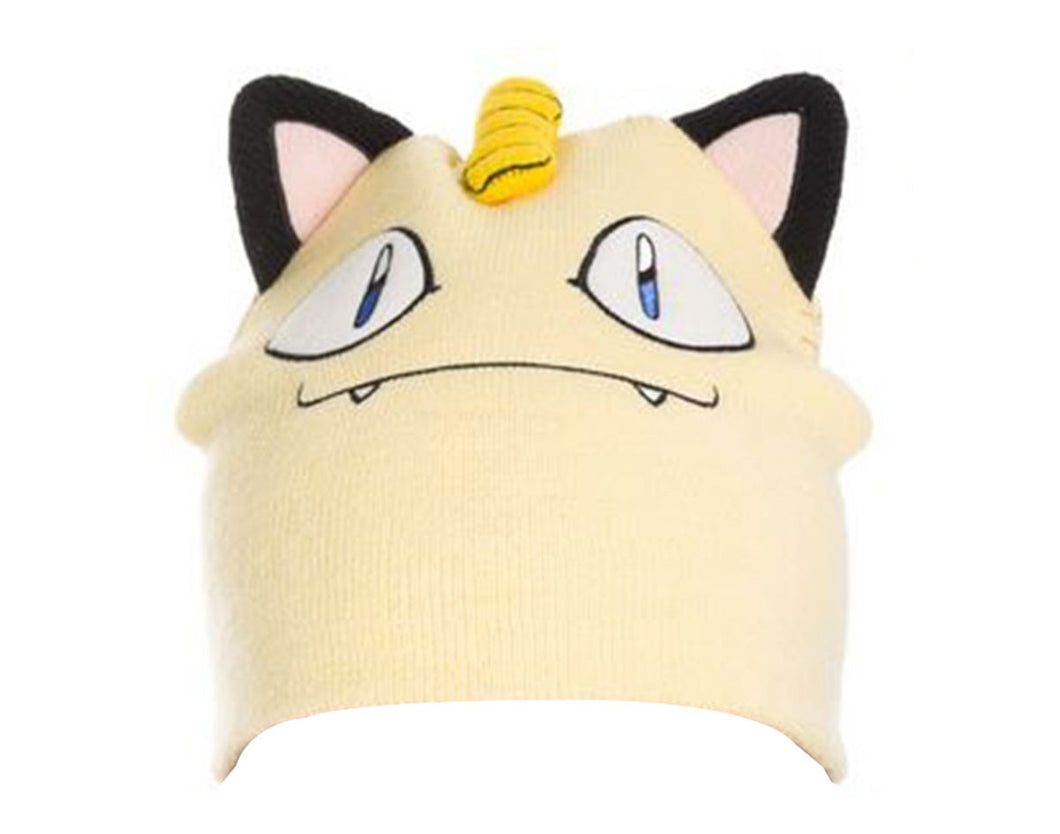 Pokemon Meowth Official Beanie by BIOWORLD