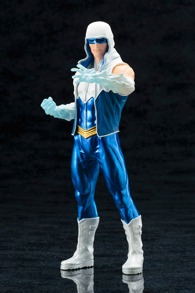 DC Comics Official Captain Cold New 52 ARTFX+ Statue by Kotobukiya