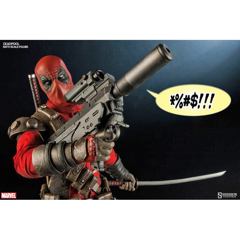 MARVEL Official Deadpool 1:6 Figure by SIDESHOW COLLECTIBILES