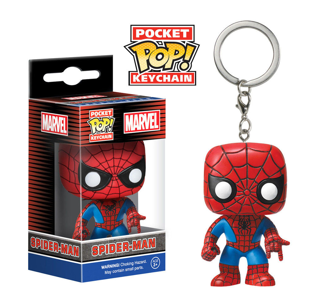 MARVEL Spider-Man Official Keychain Funko Pop!