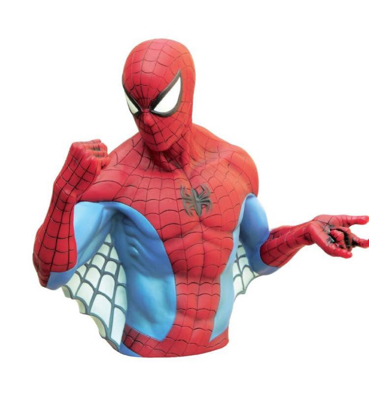 MARVEL Official Spider-Man (Version 1) Bust Bank by Monogram