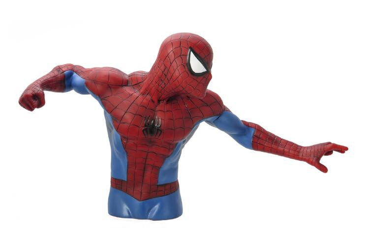 MARVEL Official Spider-Man (Version 2) Bust Bank by Monogram