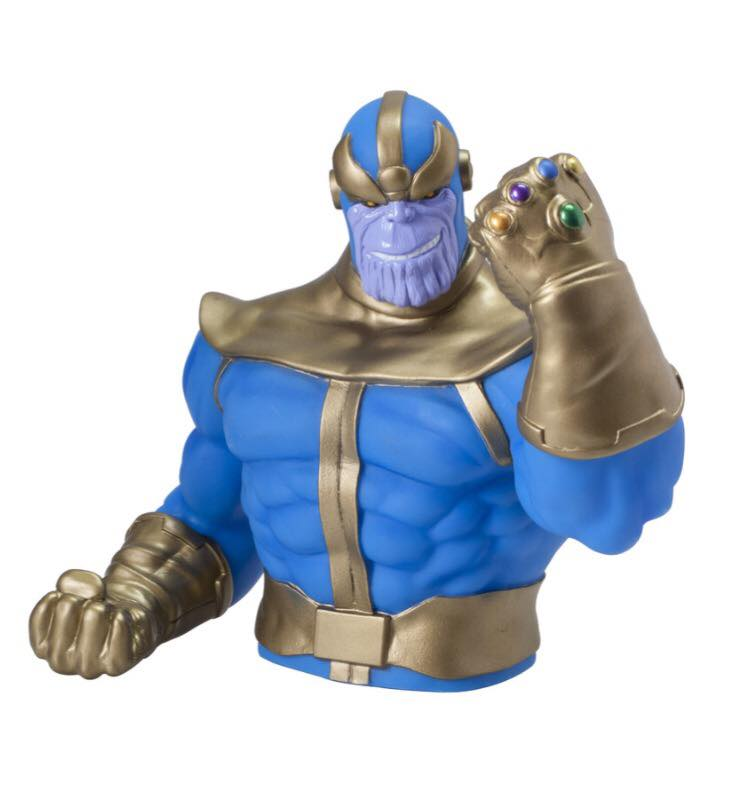 MARVEL Thanos with Infinity Gauntlet Official Bust Bank by Monogram