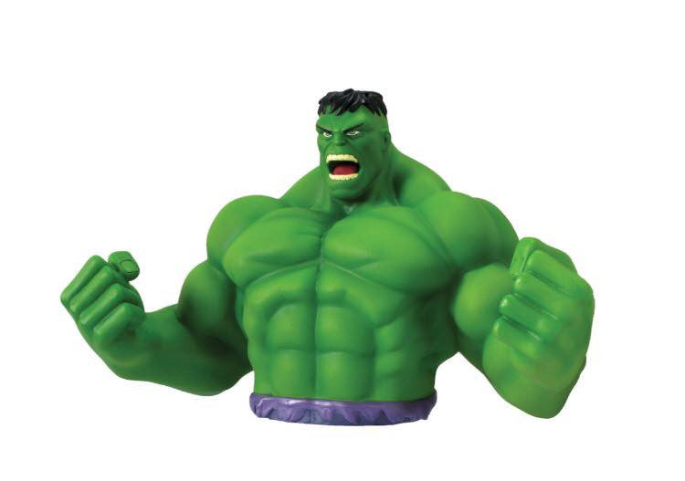 MARVEL The Hulk Official Bust Bank by Monogram