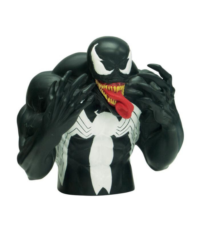 MARVEL Venom Official Bust Bank by Monogram
