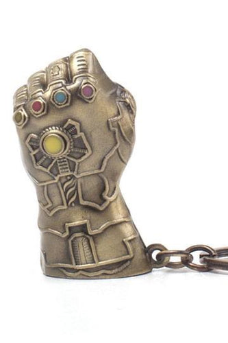 MARVEL Avengers Infinity War Official Thanos Infinity Guantlet Keychain Difuzed