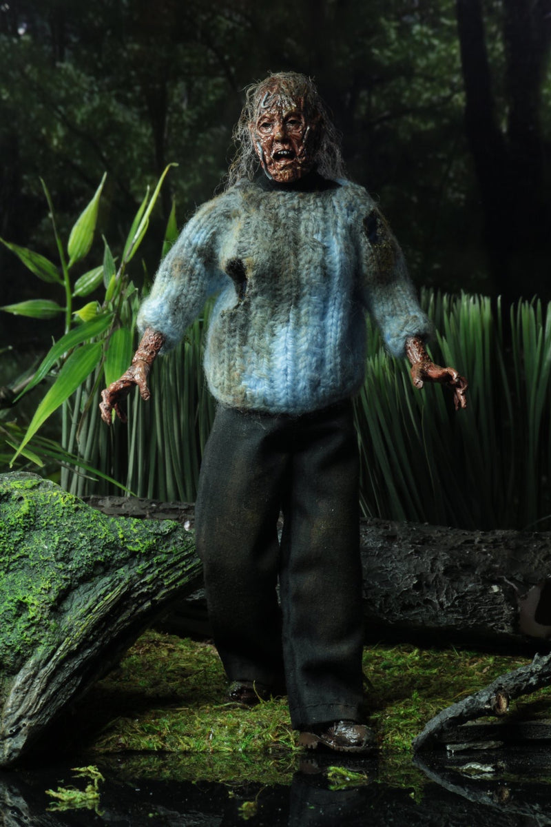 Friday the 13th Corpse Pamela Voorhees Clothed Action Figure -NECA