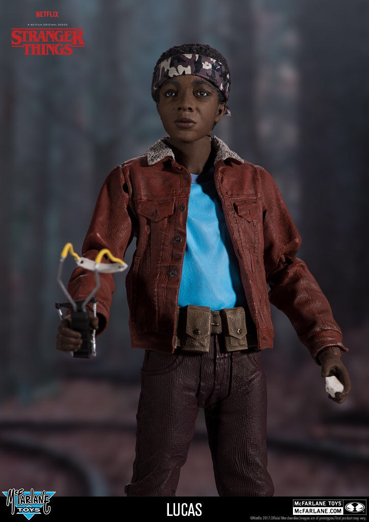 Stranger Things Official Lucas Series 2 Figures by McFarlane Toys