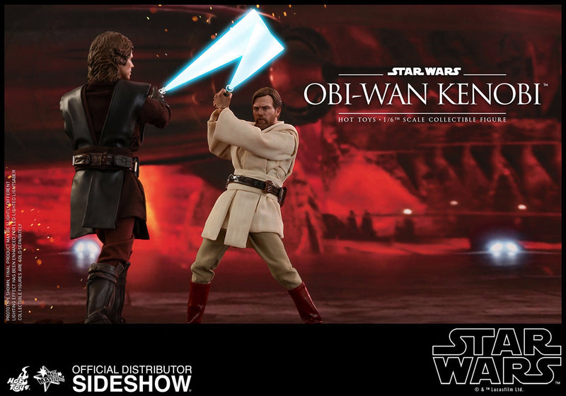Star Wars Revenge of the Sith Obi Wan Kenobi 1:6th Scale Action Figure - Hot Toys