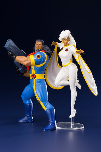 MARVEL X-Men Bishop & Storm ARTFX+Statues Kotobukiya