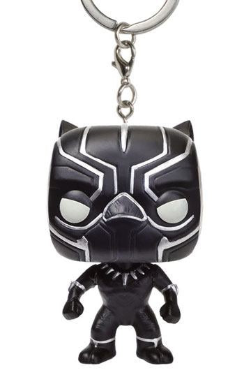 Official Captain America Civil War Black Panther Keychain Funko Pop!