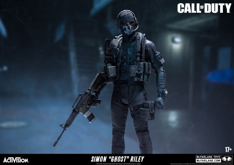 Call of Duty Black Ops 4 Official Ghost Figure by McFarlane Toys