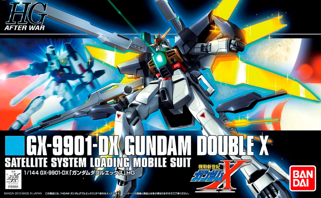 Mobile Suit Gundam Double X Official HGAW 1/144 Model Kit Bandai