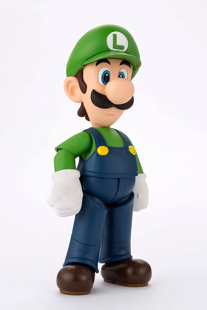 Super Mario Bros Official Luigi S.H.Figuarts Figure by Bandai T.N