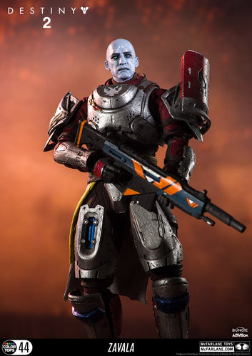 "Destiny 2 Zavala Official 7"" Figure by McFarlane Toys"