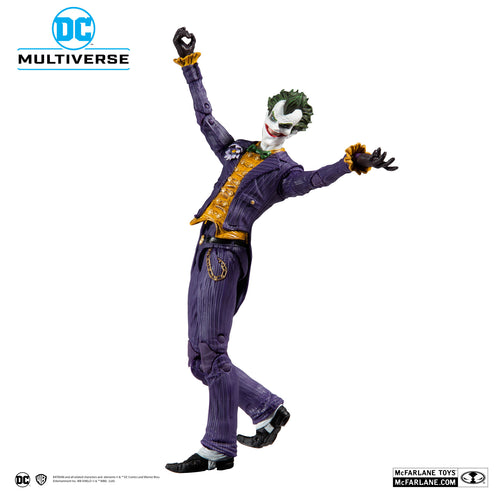 DC Multiverse Batman Arkham Asylum Joker Action Figure by McFarlane Toys