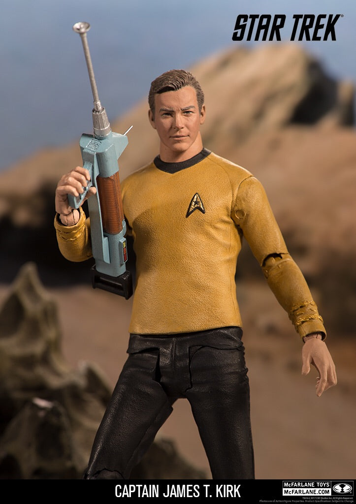 Star Trek The Original Series Captain Kirk Official Figure McFarlane Toys