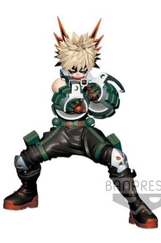 My Hero Academia Katsuki Bakugou Enter the Hero Statue Banpresto