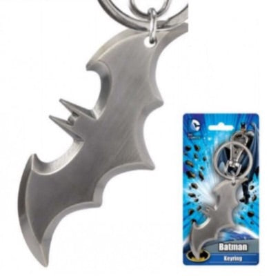 DC Comics Official Batman Batarang Weapon Pewter Keychain by Monogram