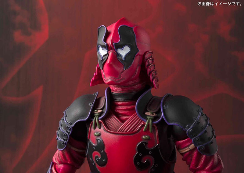 MARVEL Official Samurai Deadpool MMR by BANDAI TAMASHII NATIONS