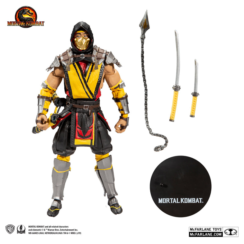 Mortal Kombat 11 Scorpion Action Figure - McFarlane Toys