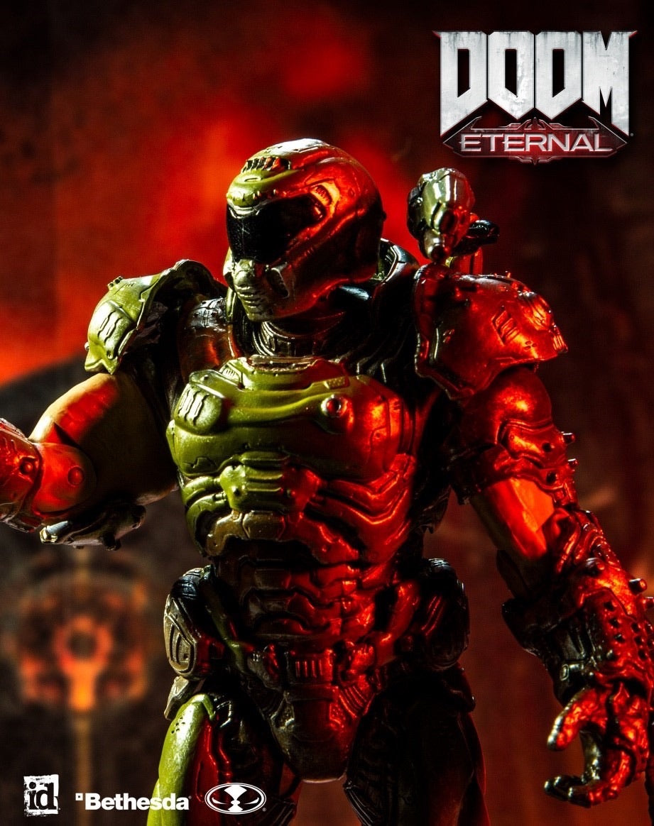 Doom The Doom Slayer Official Action Figure by McFarlane Toys