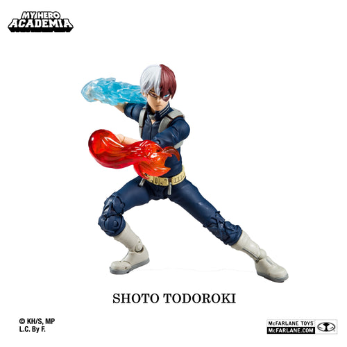 My Hero Academia Shoto Todoroki Action Figure by McFarlane Toys